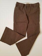 "Banana Republic ""The Sloan Fit"" Size 8 Stretch Flare Women's Brown Dress Pants"