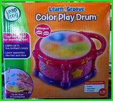 Bilingual LeapFrog LEARNING DRUM Educational Musical  Lights & Sounds 123 ABC