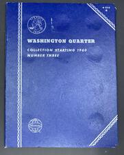 Washington Quarter 1960- Number 3 Empty Album SKU 81