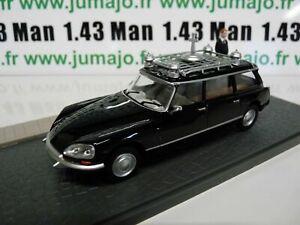 PU13 voiture 1/43 Eligor : CITROËN DS break Corbillard hearse