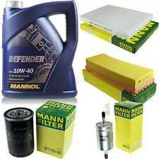 Motor-Öl 5L MANNOL Defender 10W-40 +MANN-FILTER Filterpaket Seat Cordoba 6K2 1.6