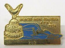 1978 U.R.C. / A.P.B.A. SEASON PASS #259 tack pin pinback Hydroplane boat b1