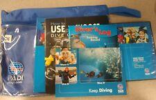 Padi Open Water diver Packs: 2 Dvd, dive log, 2 soft cover manuals, 2010