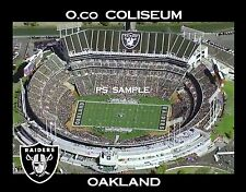 Oakland Raiders - O.co Coliseum - Travel Souvenir Fridge Magnet