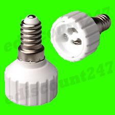 30x ses E14 Gu10 Adaptador Socket convertidor Reino Unido Stock-Super Saver Deal