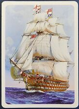 SWAP CARD. ADMIRAL NELSON 'VICTORY' TALL SAILING SHIP. c2005 PIATNIK. WIDE. MINT