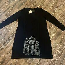 HEBBEDING Superposé Robe Noir Gris Print HOLLAND maisons T 3 NEUF