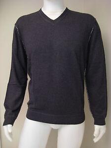 Nat Nast Men's Duet Black Long Sleeve Sweater Shirt