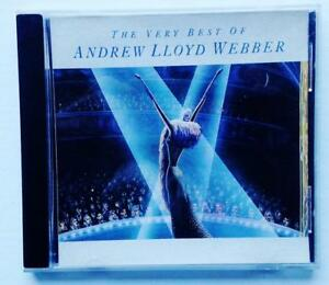 ANDREW LLYOD WEBBER BEST OF FF RECORDS ORIGINAL CD - EXCELLENT USED 1996