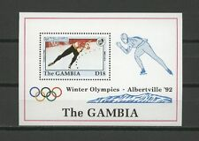 Olympiade 1992, Olympic Games - Gambia - Bl.158 ** MNH