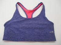 CHAMPION C9 Women's Size S Reversible Purple/Neon Pink Compression Sports Bra