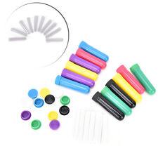 Aceite esencial aromaterapia en blanco nasal tubos inhalador 12 palos completos