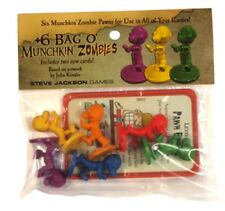 +6 Bag o'Munchkin Zombies, Brand New, Sealed
