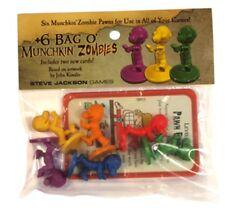 +6 Bag o'Munchkin Zombies, Brand New, Sealed