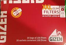 10 sacchetti 100 filtro lunghe diametro 8 mm gizeh Giza 415925015 FEIN filtro