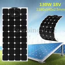 Elfeland 130w 18V Flexible Solar Panel Battery Charging Caravan Boat Motorhome