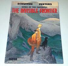 INVISIBLE FRONTIER  (Cities of the Fantastic ~ NBM 2004 US Hardcover ~ Schuiten)