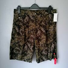 """Bnwt DOLCE & GABBANA Pleated Abstract Camouflage Lightweight Shorts Size 34"""""""