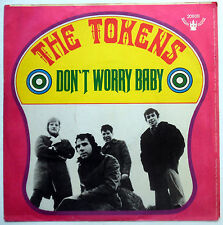 THE TOKENS 45 Don't Worry Baby / Some People Sleep NEAR MINT Psych GERMAN e1198