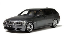 Otto Mobile 1/18 BMW E61 M5 Touring Met. Grey 2007 OT189 GT Spirit