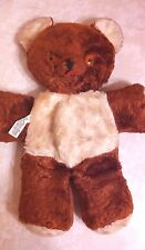 Vintage Cubbi Gund Plush Bear With Tongue Sticking Out And Body Tag J Swedlin