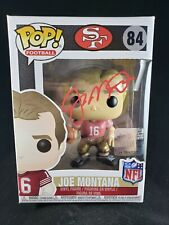 Joe Montana Signed Autographed Funko Pop Figure Beckett COA