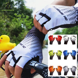 Motorcycle Cycling gloves Fingerless Half Finger Gloves Bike Riding Mitts Gloves