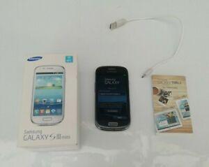 Samsung Galaxy S3 Mini 8GB Blue Smart Phone Possibly Locked to Virgin