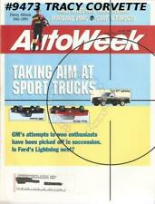 July 26 1993 Autoweek 1957-1964 Jeep FC-series trucks Davey Allison 1961-1993