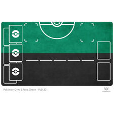 Pokemon Gym Playmat 2-Tone Green - Pokemon Play Mat (PL0132)