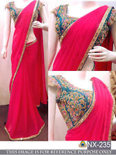 Indian Designer Trasigner Fashion Partywear wedding pakistani Stylish sari