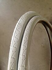 26x1.50 WHITE Bicycle Tires & Tubes•MTB, Cruiser, BMX
