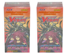 2x Cardfight Vanguard Cavalry of Black Steel English Sealed Booster Box EB03 x2