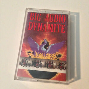 BIG AUDIO DYNAMITE - Megatop Phoenix - Cassette Tape - EX - Tested
