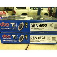 DBA T2 FRONT SLOTTED ROTORS suit SUBARU WRX STi GD 2.0L EJ207 F4 2000-07 294mm