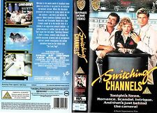 SWITCHING CHANNELS VHS PAL BURT REYNOLDS,CHRISTOPHER REEVE,KATHLEEN TURNER 80'S
