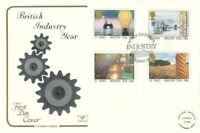14 JANUARY 1986 INDUSTRY YEAR COTSWOLD FIRST DAY COVER BIRMINGHAM SHS