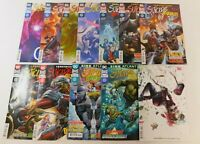DC SUICIDE SQUAD RUN #36-47 W/ HARLEY VARIANT COVER COMIC LOT WILLIAMS