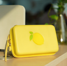Carrying Case Protective Travel Cover Storage Bag Box For  Switch Lemon