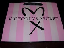 Lot 12 bags Victoria's Secret MEDIUM PAPER STRIPE BAG GIFT SHOPPING BAG USED!!