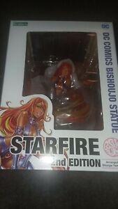 STARFIRE  TEEN TITANS BISHOUJO STATUE KOTOBUKIYA DC SEXY 2ND EDITION SEALED NEW