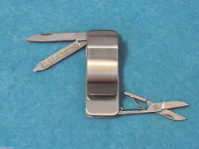 """Fury 44473 Money Clip stainless steel manicure folding knife 2 1/4"""" closed NEW!"""
