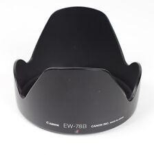 Plastic Lens Hood Gegenlichtblende Original Canon EW-78B for EF 28-135mm