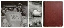 Porsche, Fotoalbum, Rallye-Legende Wulf Wisnewski. 40 Orig.-Fotos etc. 1950-52