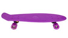 "AscotDrifting Cruiser Skateboard 27"" Purple With Purple Wheels"