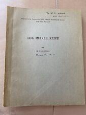Antike Archäologie Buch Meikle reive 1950s Reprint Horace Fairhurst Glasgow