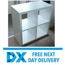 ikea kallax shelving storage bookcase display unit white 77 x 77