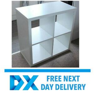 ikea kallax shelving storage bookcase display unit white 77 x 77