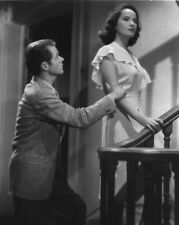 Merle Oberon and Franchot Tone UNSIGNED photograph - M2608 - Dark Waters