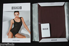 WOLFORD NEON BODY 78264, BODYSUIT,  SMALL, in madeira (4743), New in box